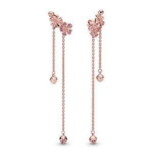 🔥Pandora🔥 Blossom Flower Dangle Earrings